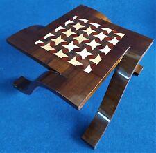 Petite Table Design en Bois '900 Style Art Déco Ronce Polychrome - France Xx Sec