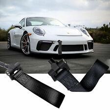 Black Racing Tow Holw Strap Hook For Porsche 911 Carrea 991 2013-2018