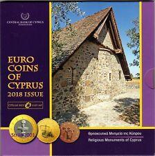 NEW !!! Euro CIPRO 2018 in Folder Ufficiale Zecca NEW !!!