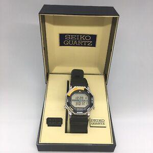 Seiko Astronaut Watch  A829-6029 Rotocall Mint Condition Box