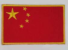 CHINA Nation Country Flag Embroidered Sew/Iron On Patch Patches