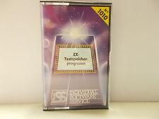 ZX Testspeicherprogramm, ZX81, MArke ISS: Individual Software Service