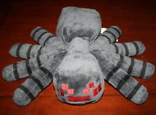 "MineCraft Stuffed Plush Spider Giant 16"" x 13"" Tarantula video game Jinx Mojang"