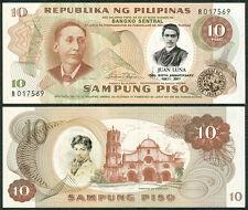 10 Pesos JUAN LUNA's 150th BIRTH ANNIVERSARY Commemorative Banknote #2