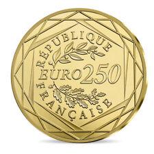 250 Euro Gold Frankreich Marianne 2019 im Etui - Goldmünze Stempelglanz