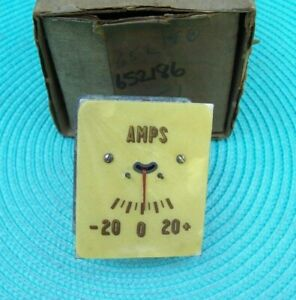 NOS 1936 36 DeSoto Airstream Airflow AMMETER 652186