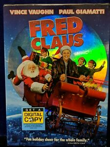 Fred Claus DVD Movie 2008 Christmas New /Sealed vince Vaughn