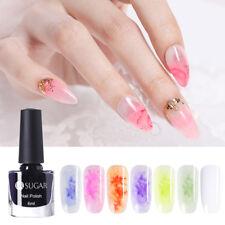 UR SUGAR 6ml Blossom Nail Polish Natural Pink Nail Art Varnish Opal Base Needed