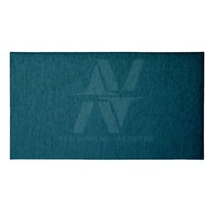 "24"" Luxury Feel Handmade Plain Chenille Fabric Upholstery Headboard Double King."