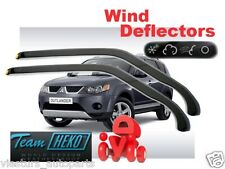 MITSUBISHI OUTLANDER  II gen  5D  2006 - 2012  Wind deflectors 2.pc  HEKO  23351