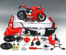 Maisto 1:12 Ducati 1199 Panigale Assembly line KIT DIY Motorcycle Bike Model New
