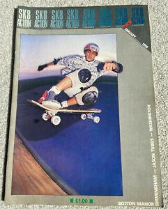 SKATE ACTION (SK8 Action) Vintage Skateboard Magazine February 1990