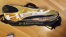Head Tour Team Tennis Racquet Bag Gold Black