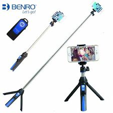 Benro MK10 Bluetooth Selfie Stick Tripod Stabilizer 3in1 suit Gopro Video Camera