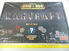 THINK GEEK WARCRAFT EPIC BOX NEW GM831