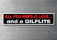 Buy a Gilflite sticker quality 7yr vinyl water & fade proof cruiser speed boa