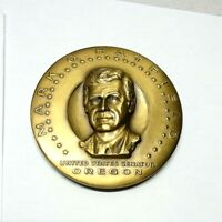 Medallic Art Co NY Medallion United States Senator Mark O. Hatfield Oregon