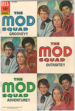 The Mod Squad #3 FN+ 1969 Dell Comics Michael Cole Peggy Lipton photo cover