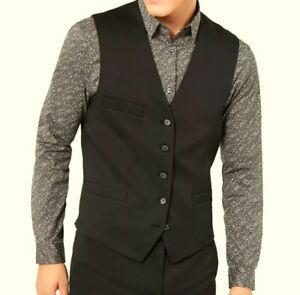 I.N.C. International-Concepts Slim Fit, Button-Down Vest. Men's Large New