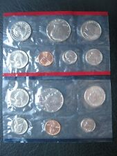 More details for usa 1981 cent ~ $1 moon landing dollar ~ unc p & d marks 13 coin collection set