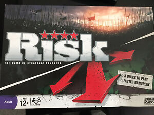 Risk: The Game Of Strategic Conquest Board Game Family Fun Faster Gameplay 2008