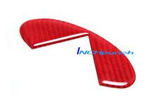For Infiniti G35 2Door Coupe Red Carbon Fiber Trunk Lid Emblem Logo Filler Decal