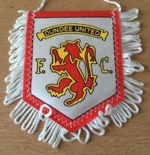 @ PETIT ANCIEN FANION  OLD PENNANT  DUNDEE UNITED FC - ENGLAND    @