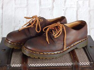 Dr. Martens A-Ch1561ZBEN/59 Brown Leather Men's US 7 Doc