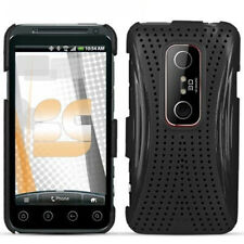 Xmatrix Black Hard Case Phone Cover Sprint HTC EVO 3D
