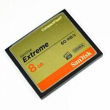 SanDisk Extreme 8 GB 60MBs - CompactFlash I Card
