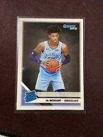 2019-20 Ja Morant Donruss Rated Rookie RC #202 Memphis Grizzlies Invest ROY
