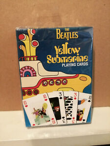 The Beatles - Yellow Submarine Playing Cards