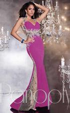 Panoply Grad Prom Dress 14774 Purple Multi Size 4 NWT