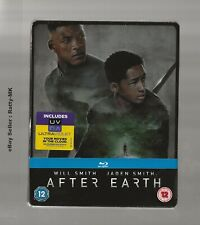 AFTER EARTH - UK EXCLUSIVE BLU RAY STEELBOOK - NEW & SEALED