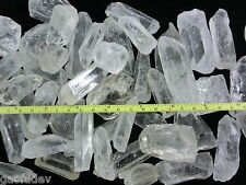 Afghanistan Clear Quartz Crystal Stone 15 to 50 gram Size Pieces 100 gram Lot