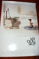MY DOG SKIP  1999 Rolled Unused  2 sided  Movie Poster