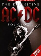 THE UPDATED DEFINITIVE AC/DC SONG BOOK GUITAR TAB FOR ALL THINGS AC/DC