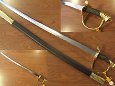 MILITARY OFFICERS SABRE SWORD GOLD D071