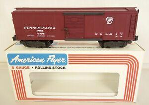 AMERICAN FLYER #6-9705 PENNSYLVANIA RAILROAD BOX CAR-MIB!