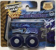Monster Jam Truckin' Pals Blue Thunder Real Wood Brand New