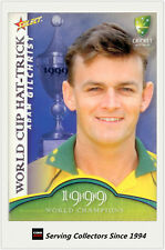 2007-08 Select Cricket Cards World Cup Hat Trick WSC4 Adam Gilchrist