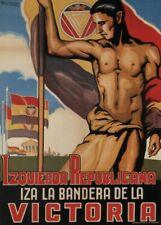 Republican Left, 1937, Spanish Civil War Propaganda Poster