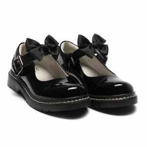 Lelli Kelly Juniors Audrey Patent Shoes (Black)