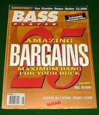 1993 Bass Player Magazine: Fender Necks Secrets, 6-String Lesson, Noel Redding.