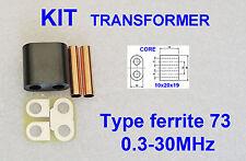 KIT RF Transformer ferrite 73 Amplifier RD16HHF1 2SC2290 IRF510 SC1969 C1969