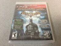 Batman: Arkham Asylum (Sony PlayStation 3, 2009) GH PS3 NEW
