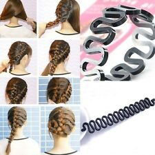 Women Lady Fashion Hair Styling Clip Stick Bun Maker Braid Tool Kit Accessories