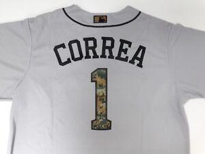 CARLOS CORREA Houston ASTROS REPLICA JERSEY - 2016 MEMORIAL DAY GREY