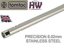 AIRSOFT Precisión Inner Barrel 6.02 ACERO INOXIDABLE Tight Bore 469mm tomtac