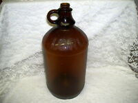 Antique Brown Glass Jug